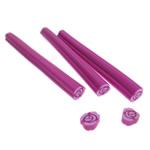 Ploymer Clay Canes, Polymer Clay, Kolonë, i errët, asnjë, i kuq, 4.30x50x5mm, 100PC/Qese,  Qese