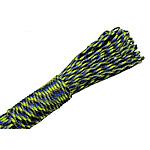Paracord, 550 Paracord, Shape Tjera, asnjë, asnjë, e zezë e gjelbër dhe blu fluoreshente, 4mm, :155m, 155m/Qese,  Qese