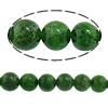Beads kuarc bizhuteri, Diopside, Round, asnjë, asnjë, 8mm, : 1mm, :16Inç, 5Fillesat/Shumë,  Shumë