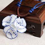 Zinxhiri gjerdan triko, Porcelan, Lule, endura, asnjë, asnjë, 40mm, : 15-26Inç, 10Fillesat/Shumë,  Shumë