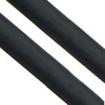 Cord gome, Gomë, Shape Tjera, asnjë, i uritur, e zezë, 6.50mm, : 4mm, :250m,  Shumë