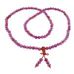 Agat Dragon venë, with Cord najlon & Red agat, Round, asnjë, asnjë, 6mm, 8.5mm, 6x8mm, : 0.8mm, :26Inç, 10Fillesat/Shumë,  Shumë