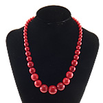 Moda Bruz Gjerdan, Bruz sintetike, Shape Tjera, i lyer, asnjë, i kuq, 8-20mm, :19Inç, 10Fillesat/Shumë,  Shumë
