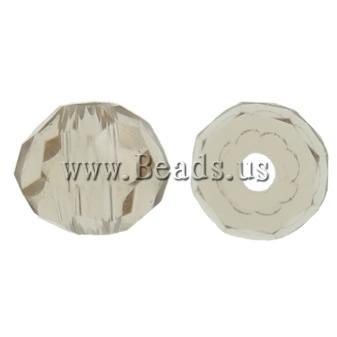Swarovski Crystal Beads, Rondelle, Greige, 3mm, : 1mm, 50PC/Qese,  Qese