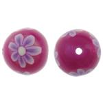 Beads polimer balta, Round, asnjë, asnjë, asnjë, 11mm, : 1.5mm, 100PC/Qese,  Qese