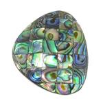 Pendants Natyrore predhë guaskë, Shell Guaskë, Trekëndësh, asnjë, asnjë, asnjë, 32x40.50x8.80mm, : 1.5mm, 5PC/Shumë,  Shumë