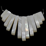Pendants Natyrore White Shell, asnjë, asnjë, asnjë, 4x11-28x4mm, : 1mm, 5Fillesat/Shumë,  Shumë