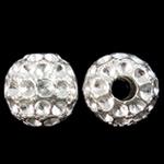 Beads Zink Alloy Vendosja, Alloy zink, Oval, Ngjyra argjend praruar, asnjë, , nikel çojë \x26amp; kadmium falas, 10x11mm, : 3mm, 100PC/Qese,  Qese