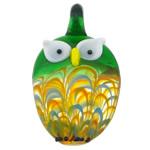 Pendants Lampwork Fashion, Buf, asnjë, asnjë, multi-colored, 28.20x49.50x14.50mm, : 7mm, 30PC/Qese,  Qese