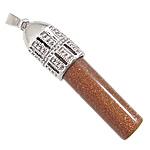 Pendants Goldstone, Kolonë, ngjyrë platin praruar, asnjë, 13.50x50mm, : 3x9mm, 20PC/Qese,  Qese