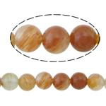 Beads kuarc bizhuteri, Ruby kuarc, Round, natyror, asnjë, 4mm, : 1mm, :16Inç, 10Fillesat/Shumë,  Shumë