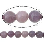 Beads bizhuteri gur i çmuar, Purple Stone, Round, asnjë, asnjë, 8mm, : 1.3mm, :16Inç, 5Fillesat/Shumë,  Shumë