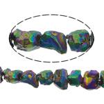 Beads kuarc bizhuteri, Beads citrine, Nuggets, colorful kromuar, asnjë, 8-10mm, : 1.2mm, :16Inç, 5Fillesat/Shumë,  Shumë
