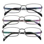 Eyewear Frames, Titan, with Rrëshirë, Shape Tjera, asnjë, asnjë, ngjyra të përziera, 31x135x130mm, 5PC/Shumë,  Shumë