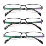 Eyewear Frames, Titan, with Rrëshirë, Shape Tjera, asnjë, asnjë, ngjyra të përziera, 29x145x130mm, 5PC/Shumë,  Shumë