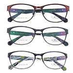 Eyewear Frames, Titan, with Rrëshirë, Shape Tjera, asnjë, asnjë, ngjyra të përziera, 40x140x135mm, 5PC/Shumë,  Shumë