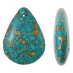 Varëse Bruz, Bruz Mozaiku, Lot, sintetik, asnjë, blu, 34x46x12mm, : 2mm, 50PC/Qese,  Qese
