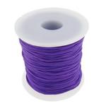 Cord najlon, vjollcë, 1mm, : 100Oborr,  PC