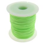 Cord najlon, jeshile fluoreshente, 1mm, : 100Oborr,  PC