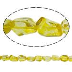 Beads kuarc bizhuteri, Lemon kuarc, Nuggets, natyror, asnjë, 16x18x10mm, : 1.5mm, : 15.3Inç, 20Fillesat/Shumë,  Shumë