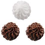 Rrëshirë Cabochon, Ice Cream, asnjë, smalt, ngjyra të përziera, 15mm, 200PC/Qese,  Qese