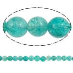Kërcitje Beads kuarc, Jeshile kuarc, Round, asnjë, 14mm, : 1mm, : 15.7Inç, 20Fillesat/Shumë,  Shumë