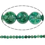 Kërcitje Beads kuarc, Jeshile kuarc, Round, natyror, 14mm, : 1mm, : 15.7Inç, 20Fillesat/Shumë,  Shumë