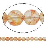 Kërcitje Beads kuarc, Rose kuarc, Round, natyror, 14mm, : 1.5mm, : 15.7Inç, 20Fillesat/Shumë,  Shumë