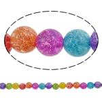 Kërcitje Beads kuarc, Kuarc Natyrore, Round, natyror, 4mm, : 0.8mm, : 15.7Inç, 20Fillesat/Shumë,  Shumë