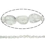 Beads kuarc bizhuteri, Kuarc qartë, Nuggets, natyror, asnjë, 8x10mm, : 1.5mm, : 15.7Inç, 20Fillesat/Shumë,  Shumë