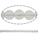 Beads kuarc bizhuteri, Kuarc qartë, Round, asnjë, 10mm, : 1.5mm, : 15.7Inç, 20Fillesat/Shumë,  Shumë
