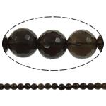 Beads kuarc bizhuteri, Tym kuarc, Round, asnjë, 6mm, : 1.5mm, : 15.7Inç, 20Fillesat/Shumë,  Shumë