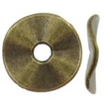 Washers Zink Alloy bizhuteri, Alloy zink, Round Flat, Ngjyra antike bronz i praruar, asnjë, asnjë, , nikel çojë \x26amp; kadmium falas, 10x1mm, : 1.5mm, 3100PC/KG,  KG