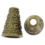 Alloy zink, Tub, Ngjyra antike bronz i praruar, asnjë, asnjë, , nikel çojë \x26amp; kadmium falas, 7x10.5mm, : 1.5mm, 1420PC/KG,  KG