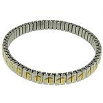 Stainless byzylyk bizhuteri Steel, Stainless Steel, Shape Tjera, ngjyrë ari praruar, asnjë, ngjyra origjinale, 7mm, :7Inç, 20PC/Shumë,  Shumë