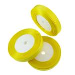 Grosgrain Ribbon, asnjë, asnjë, i verdhë, 1.3cm, : 1250Oborr, 50PC/Shumë,  Shumë