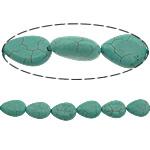 Bruz Beads, Bruz Natyrore, Lot, i lyer, asnjë, e gjelbër, 13x9x5mm, : 1mm, :15.5Inç, 10Fillesat/Shumë, 32pcs/strand,  Shumë