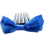 Combs dekorative Flokët, Saten Ribbon, with Plastik, asnjë, asnjë, safir, 9.5x4cm, 8.5cm, 55PC/Shumë,  Shumë