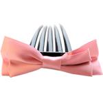Combs dekorative Flokët, Saten Ribbon, with Plastik, asnjë, asnjë, rozë, 9.5x4cm, 8.5cm, 55PC/Shumë,  Shumë