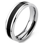 Çeliku Stainless Ring Finger, Stainless Steel, Shape Tjera, stoving llak, për njeriun, ngjyra origjinale, 6mm, :11,  PC