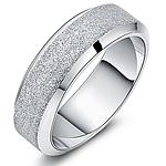 Çeliku Stainless Ring Finger, Stainless Steel, Shape Tjera, asnjë, për njeriun & i mbuluar me brymë, ngjyra origjinale, 7mm, :11.5,  PC