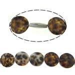 Beads Natyrore Deti Shell, Round Flat, asnjë, asnjë, asnjë, 20x7mm, : 1mm, :16Inç, 3Fillesat/Shumë, 20Pcs/Strand,  Shumë