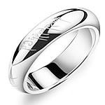 Çeliku Stainless Ring Finger, 316L Stainless Steel, Shape Tjera, asnjë, për njeriun, ngjyra origjinale, 5mm, :10.5, 3PC/Shumë,  Shumë