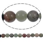 Beads kuarc bizhuteri, Rainbow kuarc, Round, natyror, asnjë, 10mm, : 1.5mm, :15.5Inç, 5Fillesat/Shumë,  Shumë