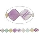 Beads aventurine, Aventurine Purple, Romb, natyror, asnjë, 17x16x6mm, : 1.5mm, :16Inç, 5Fillesat/Shumë,  Shumë