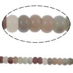 Beads kuarc bizhuteri, Rainbow kuarc, Rondelle, natyror, asnjë, 8x5mm, : 1.5mm, :15.6Inç, 5Fillesat/Shumë,  Shumë