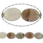 Beads kuarc bizhuteri, Rainbow kuarc, Oval, natyror, asnjë, 20x30mm, : 2mm, :15.3Inç, 5Fillesat/Shumë,  Shumë