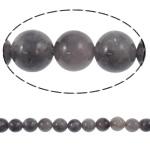 Beads kuarc bizhuteri, Ametist, Round, natyror, asnjë, 8mm, : 1.5mm, :15.6Inç, 49PC/Fije floku,  15.6Inç,