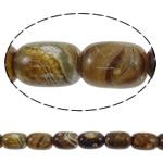 Beads Jade, Jade Xiuyan, Oval, natyror, asnjë, 13x18mm, : 2mm, :15.7Inç, 5Fillesat/Shumë,  Shumë