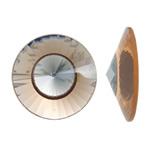 Cabochons Crystal, Kristal, Kon, asnjë, mbrapa banesë & faceted, asnjë, 30x8mm, 50PC/Qese,  Qese